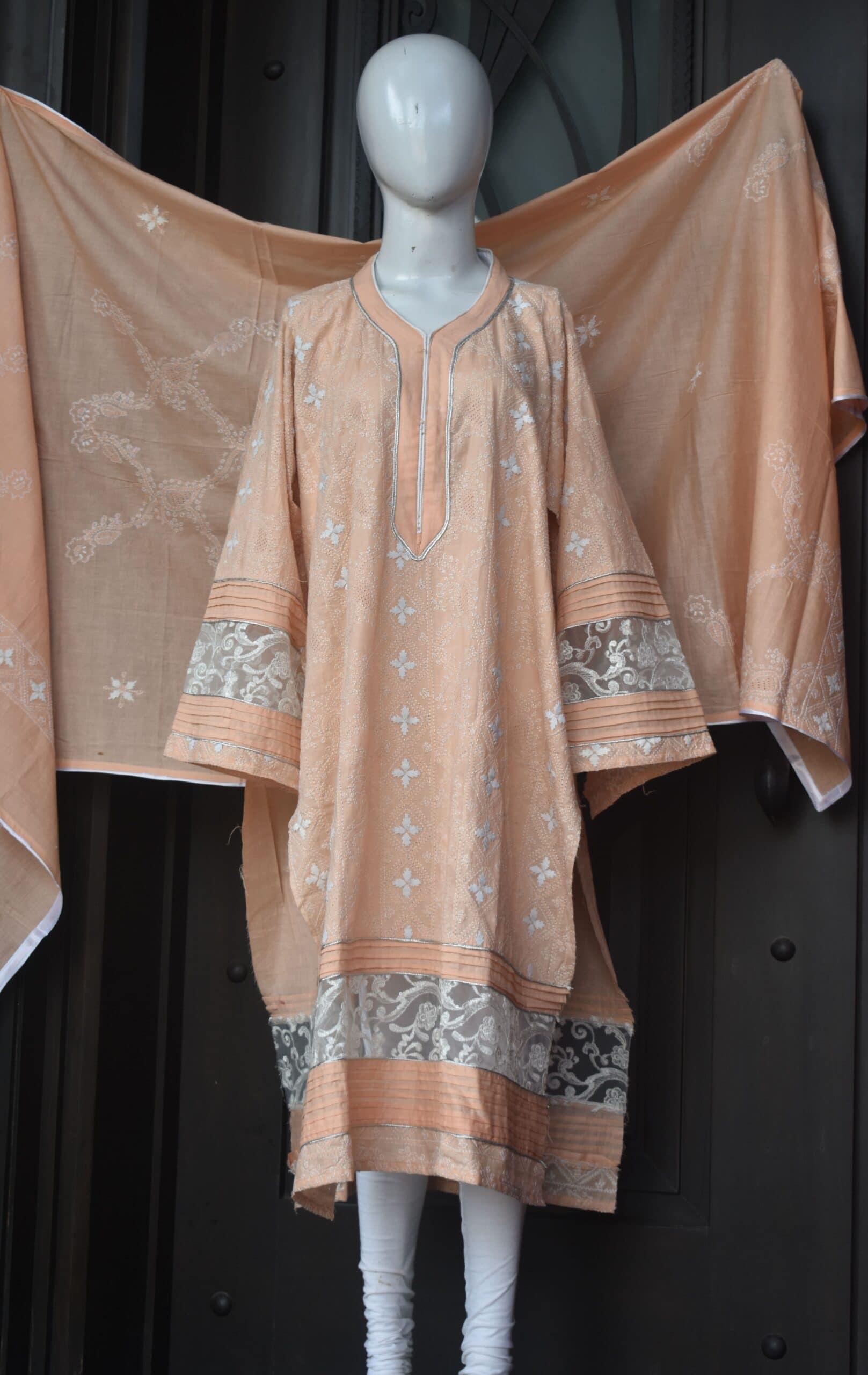 Chikankari Shirt Dupatta
