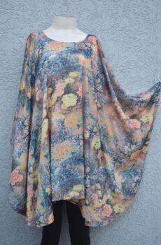 Silk shamose kaftaan style