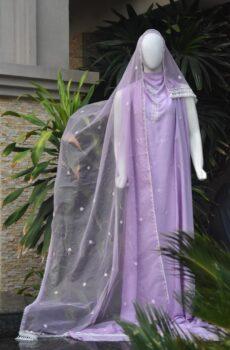 Lilac Innovative Chikankari