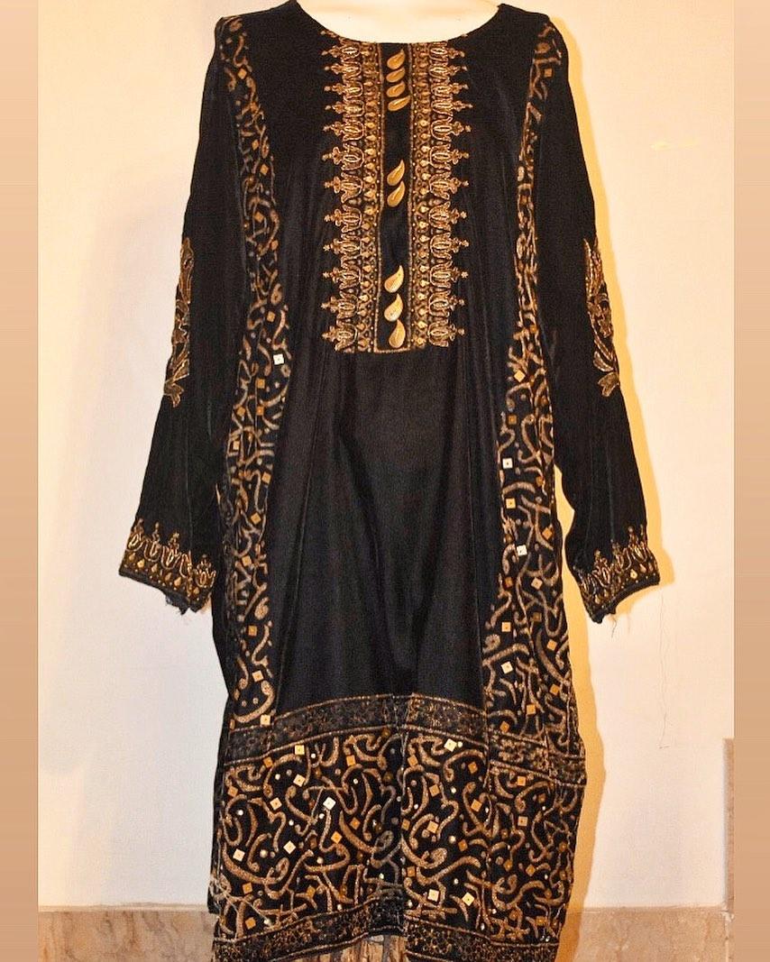 velvet black shirt