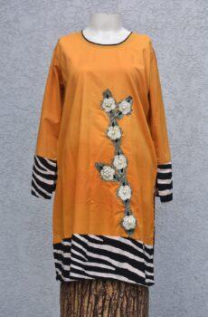 motifs with pearls kurta
