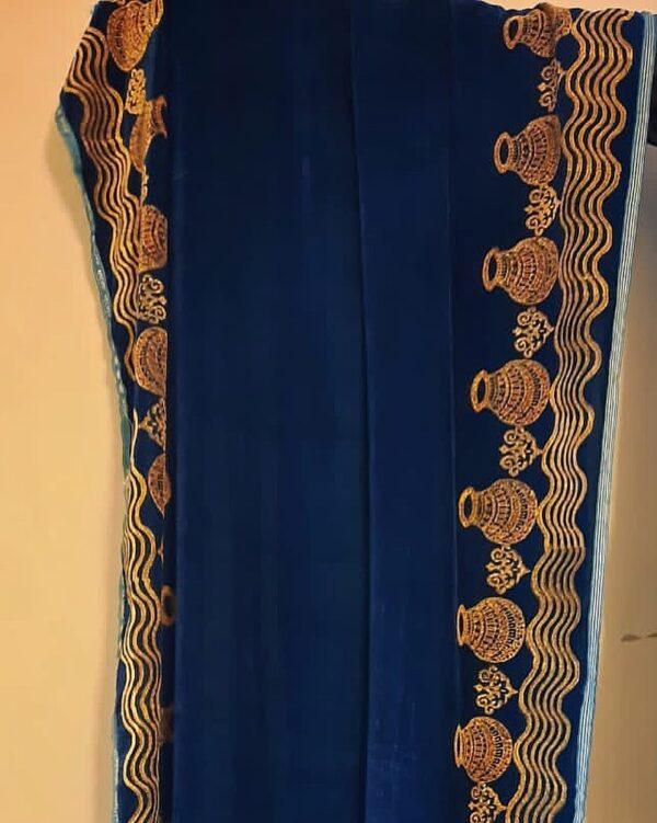 traditional matka shawl