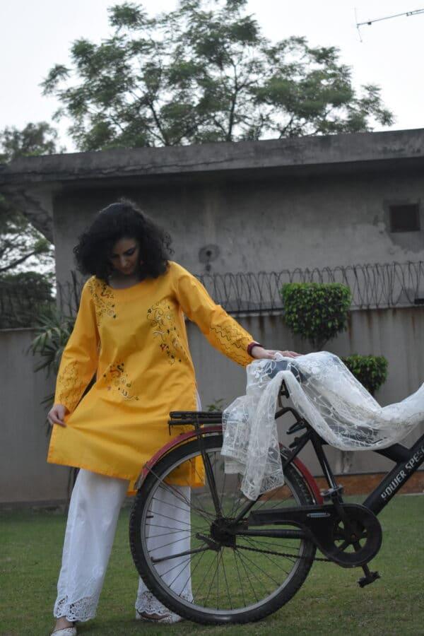 premium quality lawn kurti