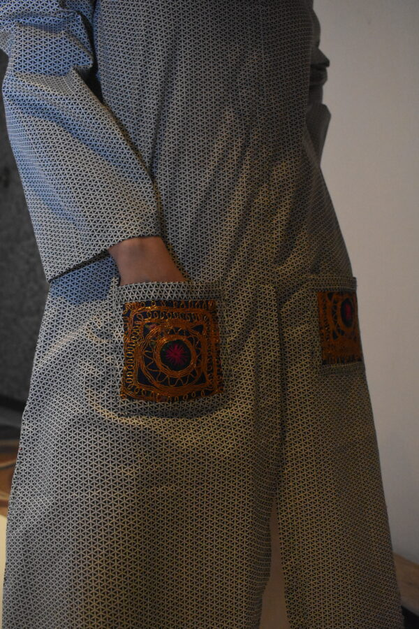 balochi pockets gown style kurti